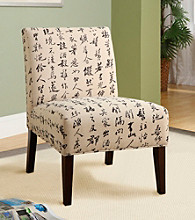 Acme Aberly Chinese Character Accent Chair