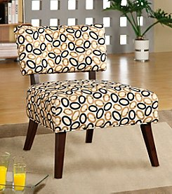 Acme Able Oval Pattern Accent Chair