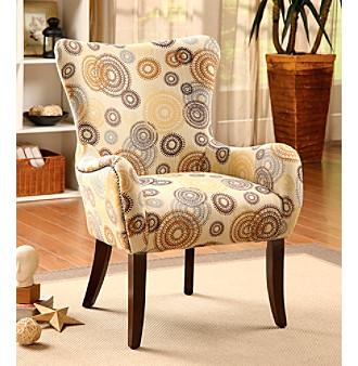 Acme Gabir Rainbow Circled Accent Chair