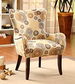 Acme Gabir Rainbow Circled Accent Chair