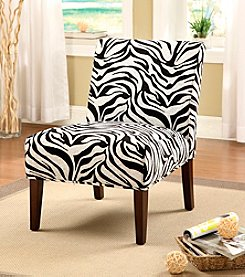 Acme Aberly Zebra Accent Chair