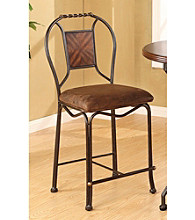 Acme Set of 2 Tavio Twist Counter Chairs