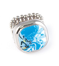 Viva Beads® Stretch Cocktail Ring - Blue Brook