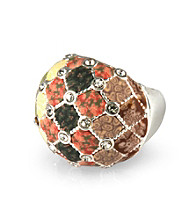 Viva Beads® Crystal Cocktail Bead Ring - New Harvest