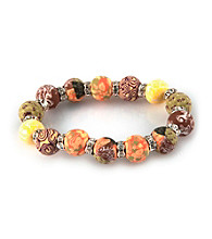 Viva Beads® Crystal 12mm Chunky Bracelet - New Harvest