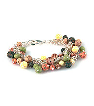 Viva Beads® Beaded Mesh Chain Bracelet - New Harvest
