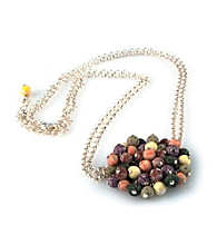 Viva Beads® Flat Cluster Necklace - New Harvest