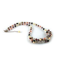Viva Beads® Crystal Rope Cluster Necklace - New Harvest
