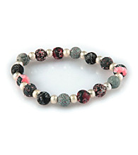 Viva Beads® Classic Crystal Bits Bracelet - Candy Apple