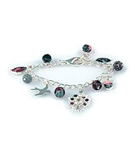 Viva Beads® Charm Chain Bracelet - Candy Apple