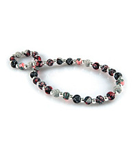 Viva Beads® Silverball 8mm Classic Necklace - Candy Apple