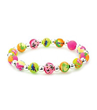 Viva Beads® Resort 8mm Classic Silverball Bracelet - Multicolored