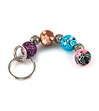 Viva Beads® Keychain 4-ball Festival - Multicolored