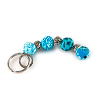 Viva Beads® Keychain 4-ball - Blue Brook