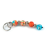 Viva Beads® Keychain 4-ball Pumpkin Spice - Orange