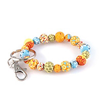 Viva Beads® Keychain 10mm Clip Pumpkin Spice - Orange