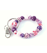 Viva Beads® Keychain 10mm Clip - Plum Orchard