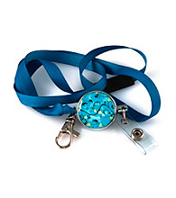 Viva Beads® Badge Pull - Blue Brook