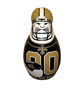 TNT Media Group New Orleans Saints Inflatable BopBag