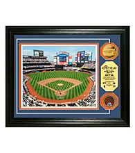 Highland Mint MLB® New York Mets CitiField 24KT Gold & Infield Dirt Coin Photo Mint
