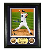 Highland Mint MLB® New York Yankees Mariano Rivera 24KT Gold Coin Photo Mint