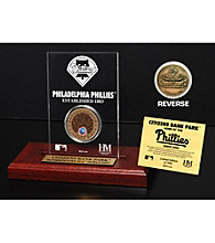 Citizens Bank Park Infield Dirt Coin Etched Acrylic by Highland Mint