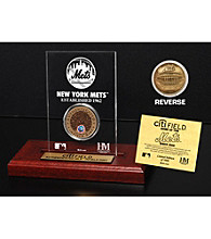 CitiField Infield Dirt Coin Etched Acrylic by Highland Mint