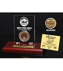 MLB® New York Mets CitiField Infield Dirt Coin Etched Acrylic