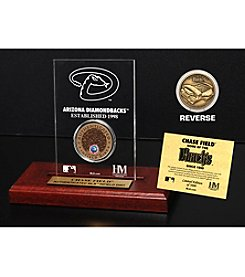 MLB® Arizona Diamondbacks Chase Field Infield Dirt Coin Etched Acrylic