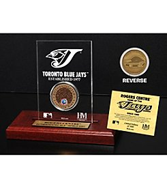MLB® Toronto Blue Jays Rogers Centre Infield Dirt Coin Etched Acrylic