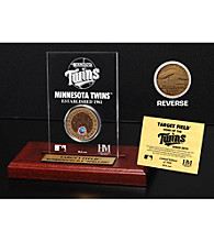Minnesota Twins Infield Dirt Coin Etched Acrylic by Highland Mint