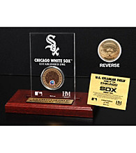 US Cellular Infield Dirt Coin Etched Acrylic by Highland Mint