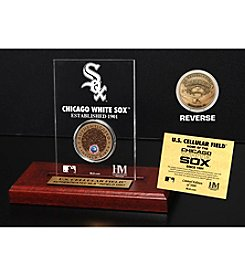 MLB® Chicago White Sox US Cellular Infield Dirt Coin Etched Acrylic