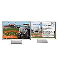 AT&T Park Silver Coin Card by Highland Mint