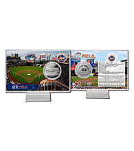 CitiField Silver Coin Card by Highland Mint