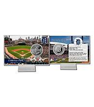 Comerica Park Silver Coin Card by Highland Mint