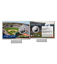 Dodger Stadium Silver Coin Card by Highland Mint