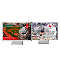 Fenway Park Silver Coin Card by Highland Mint