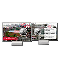 Nationals Park Silver Coin Card by Highland Mint