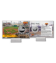 PNC Park Silver Coin Card by Highland Mint