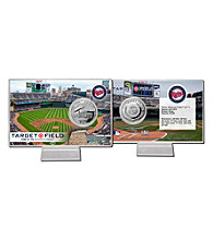 Target Field Silver Coin Card by Highland Mint