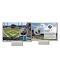 US Cellular Field Silver Coin Card by Highland Mint