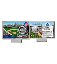 Wrigley Field Silver Coin Card by Highland Mint