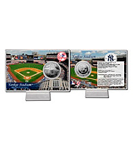 Yankee Stadium Silver Coin Card by Highland Mint