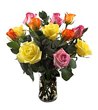 Sweets in Bloom® Rose Sorbet Assorted Dozen Bouquet