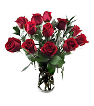 Sweets in Bloom® Dozen Red Roses