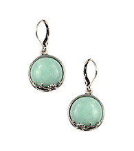 Nine West Vintage America Collection® Sea Foam Drop Earrings