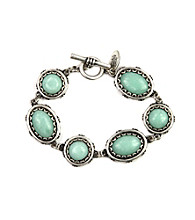 Nine West Vintage America Collection® Seafoam Line Bracelet