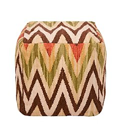 Chic Designs Square Southwest Pouf