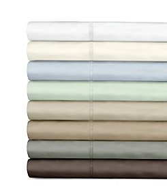 Veratex® Supreme Sateen 500-Thread Count Egyptian Cotton Solid Sheet Sets